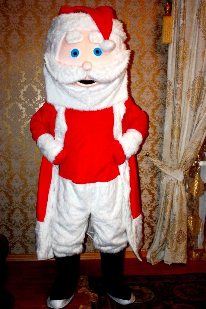 Дед Мороз ростовая кукла - заказать выступление или прокат костюма